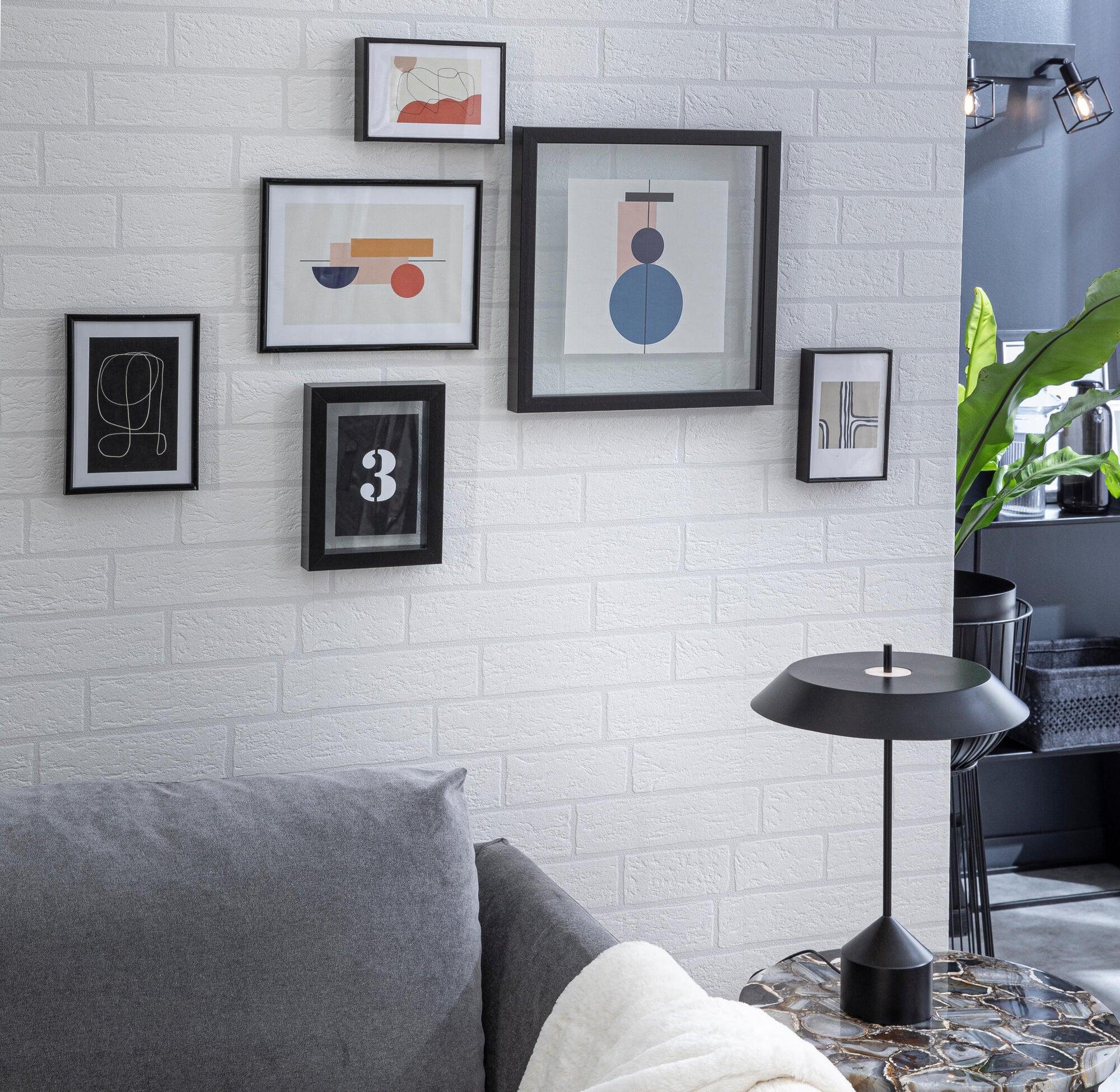 Cornice INSPIRE Lila nero per foto da 24x30 cm - 11