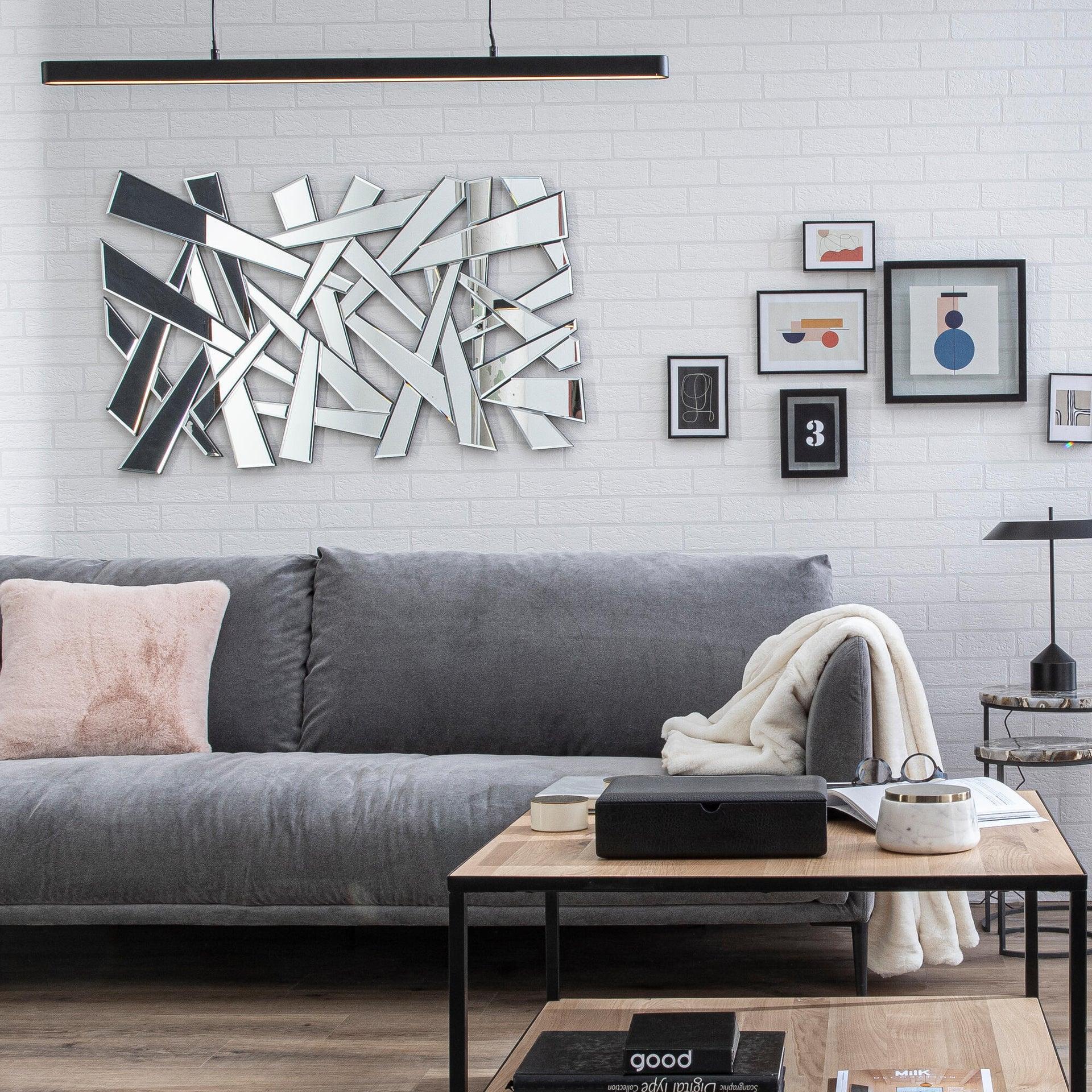 Cornice INSPIRE Lila nero per foto da 70x100 cm - 4