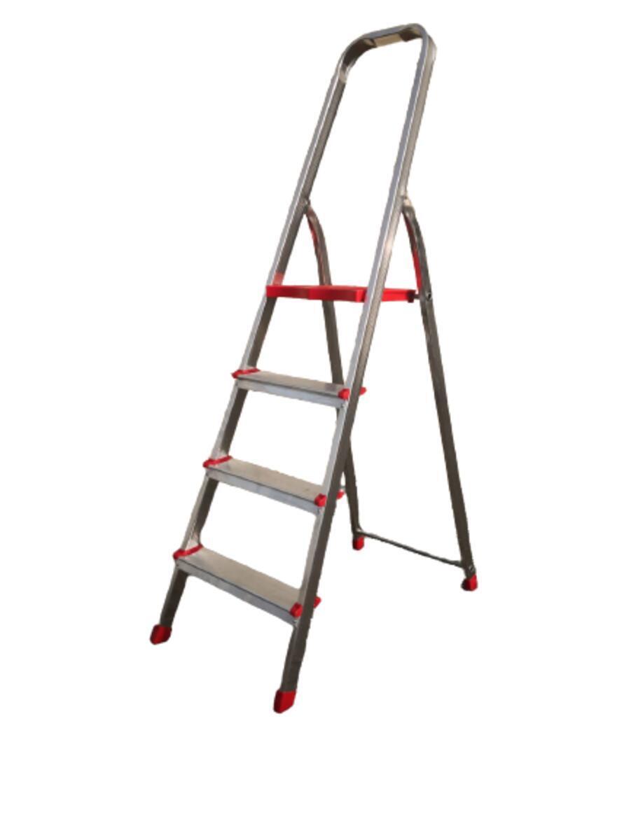 Scala in alluminio 4 gradini - 1