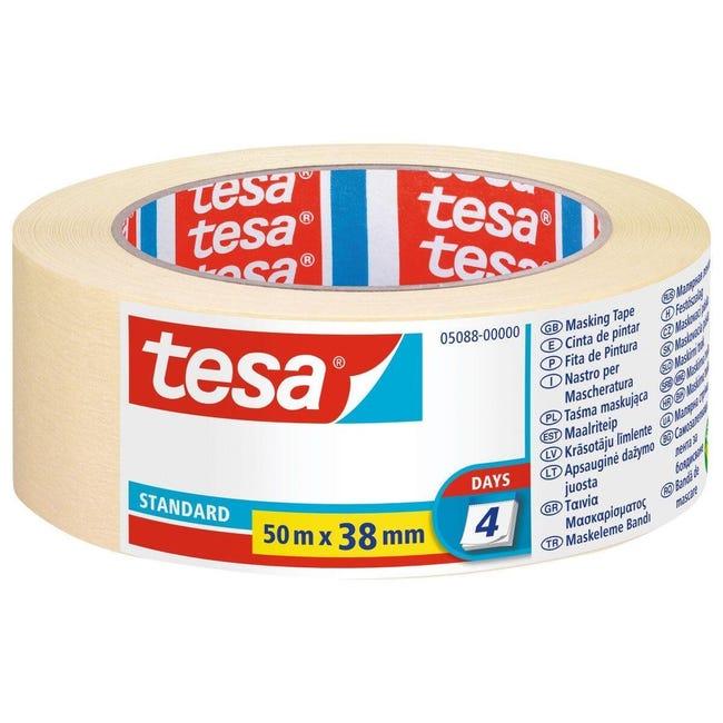 Nastro mascherante TESA General purpose 50 m x 38 mm superfici lisce - 1