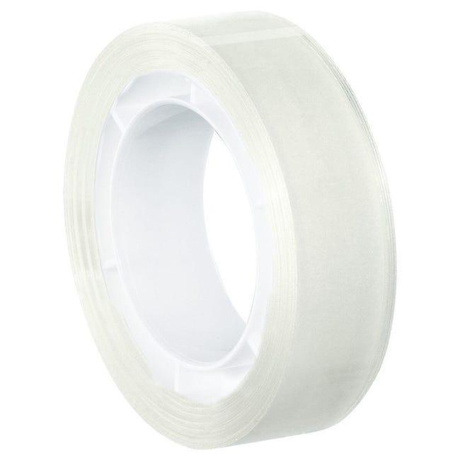 Nastro bi-adesivo TESA 0.012 m x 12 mm bianco - 1