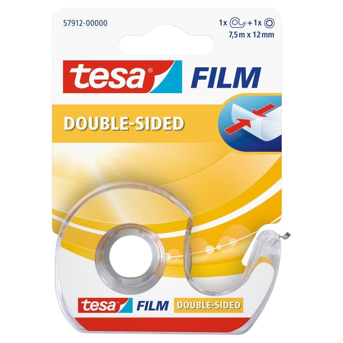 Nastro bi-adesivo TESA 0.012 m x 12 mm bianco - 3