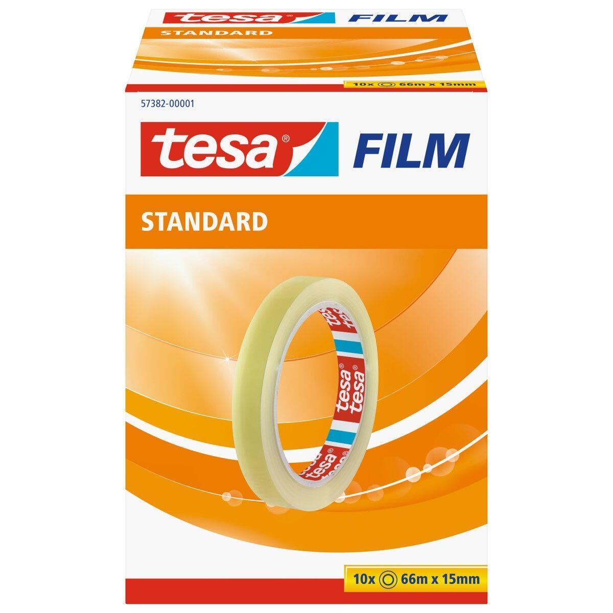 Nastro adesivo TESA tesafilm 15 mm x 66 m trasparente - 5