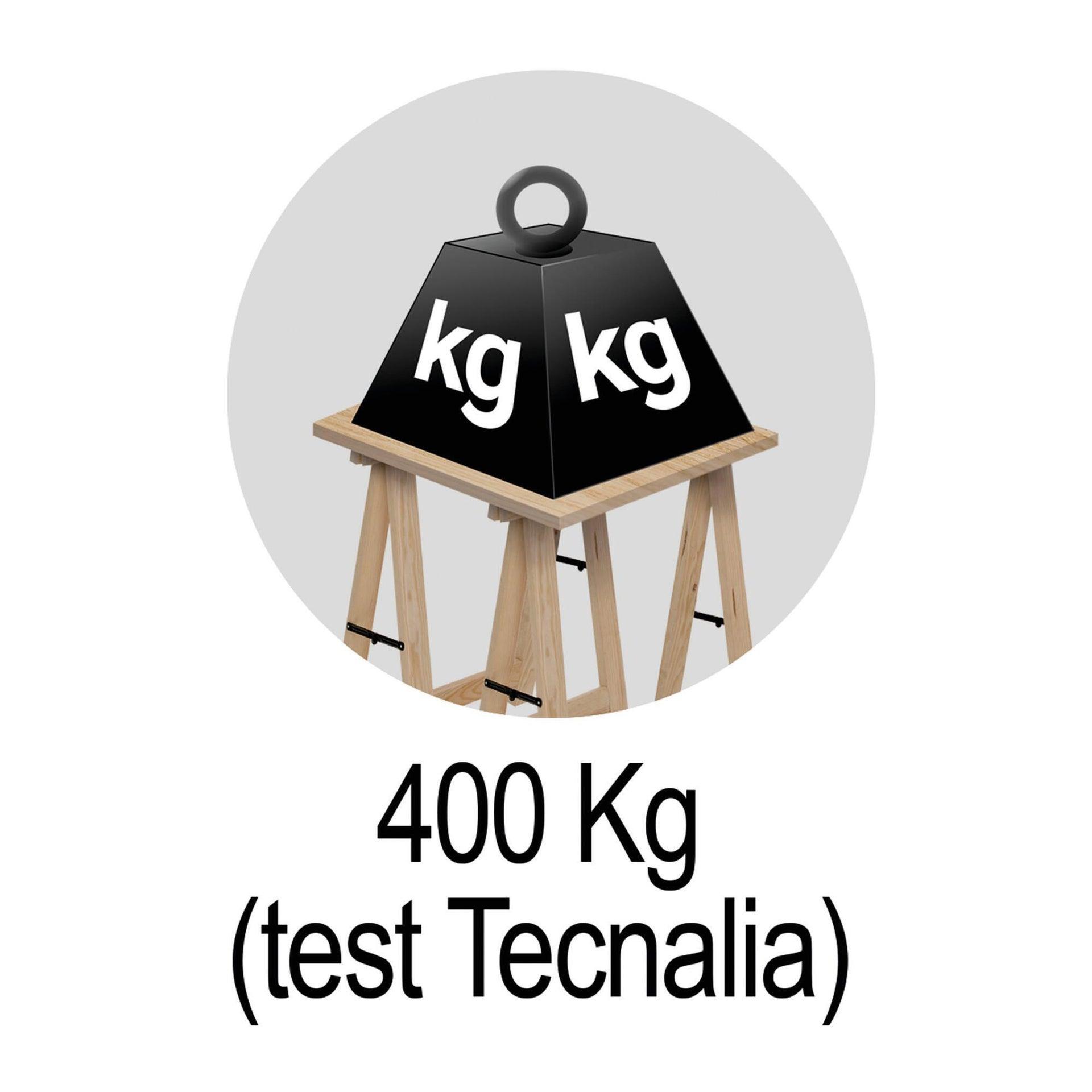 Cavalletto in pino Standard L 73.5 x P 73.5 x H 74 cm legno naturale - 14