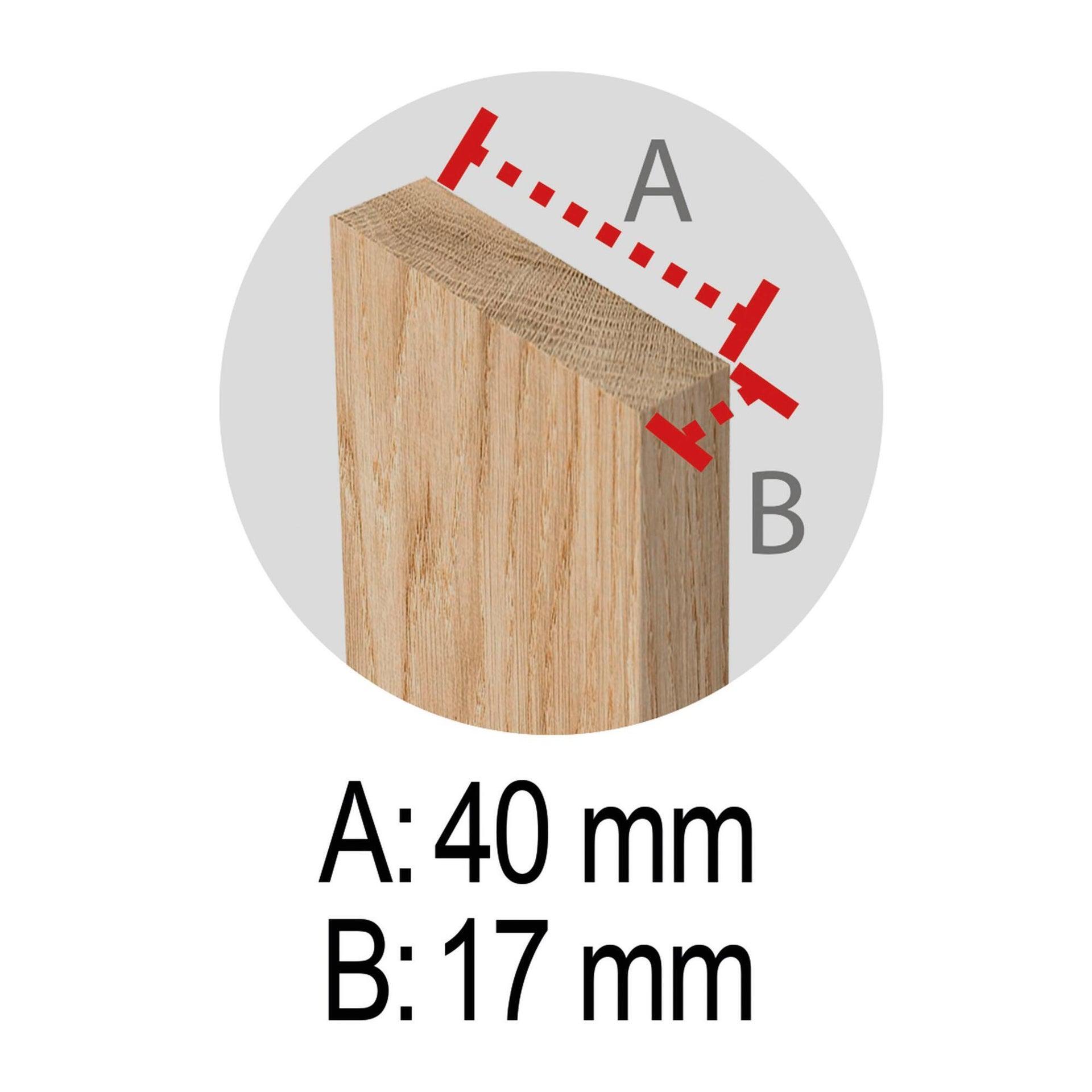 Cavalletto in pino Standard L 73.5 x P 73.5 x H 74 cm legno naturale - 13