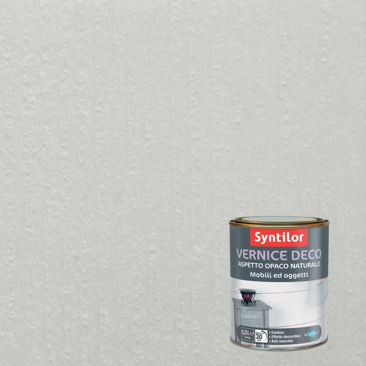 Vernice SYNTILOR Deco mobili e oggetti 0.25 L bianco - 2