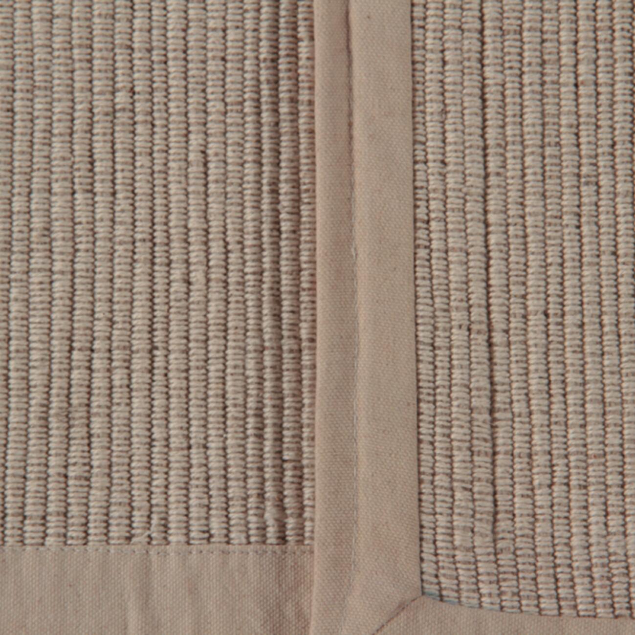 Passatoia Nevra in cotone, avorio, 50x110 - 4