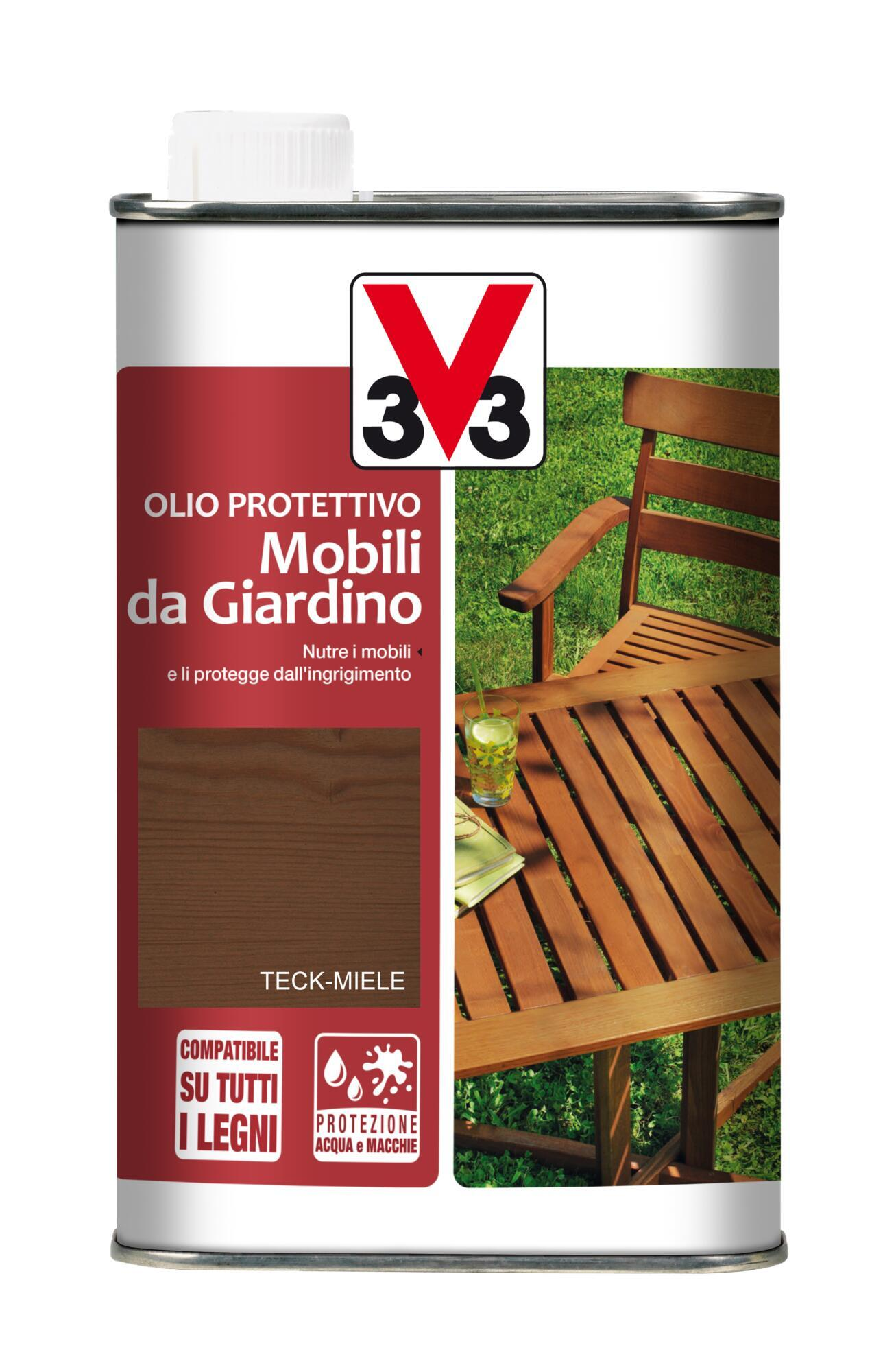 Olio V33 Mobili da giardino per esterno 1 L - 1