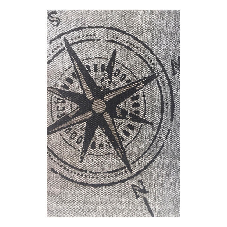 Tappeto Bussola , grigio, 160x230 - 5