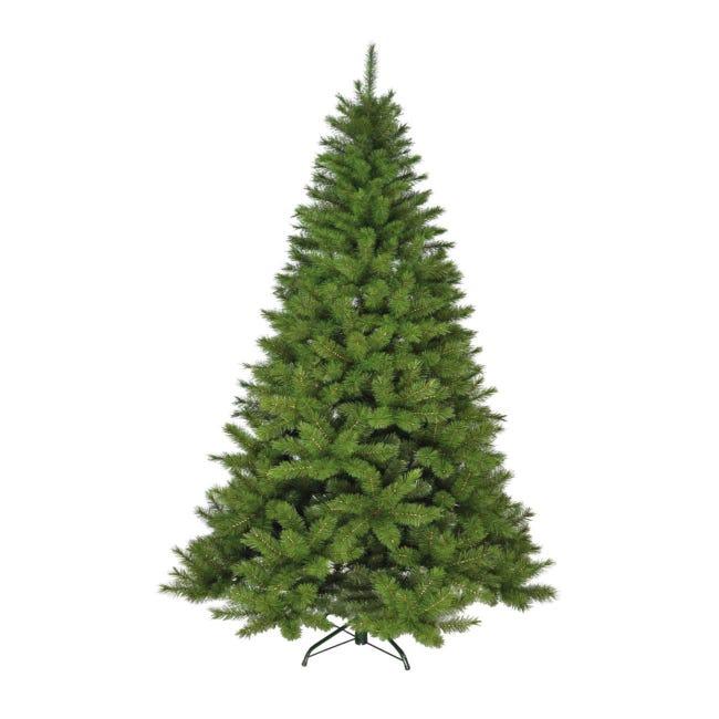 Albero di natale artificiale Champoluc verde H 180 cm, - 1