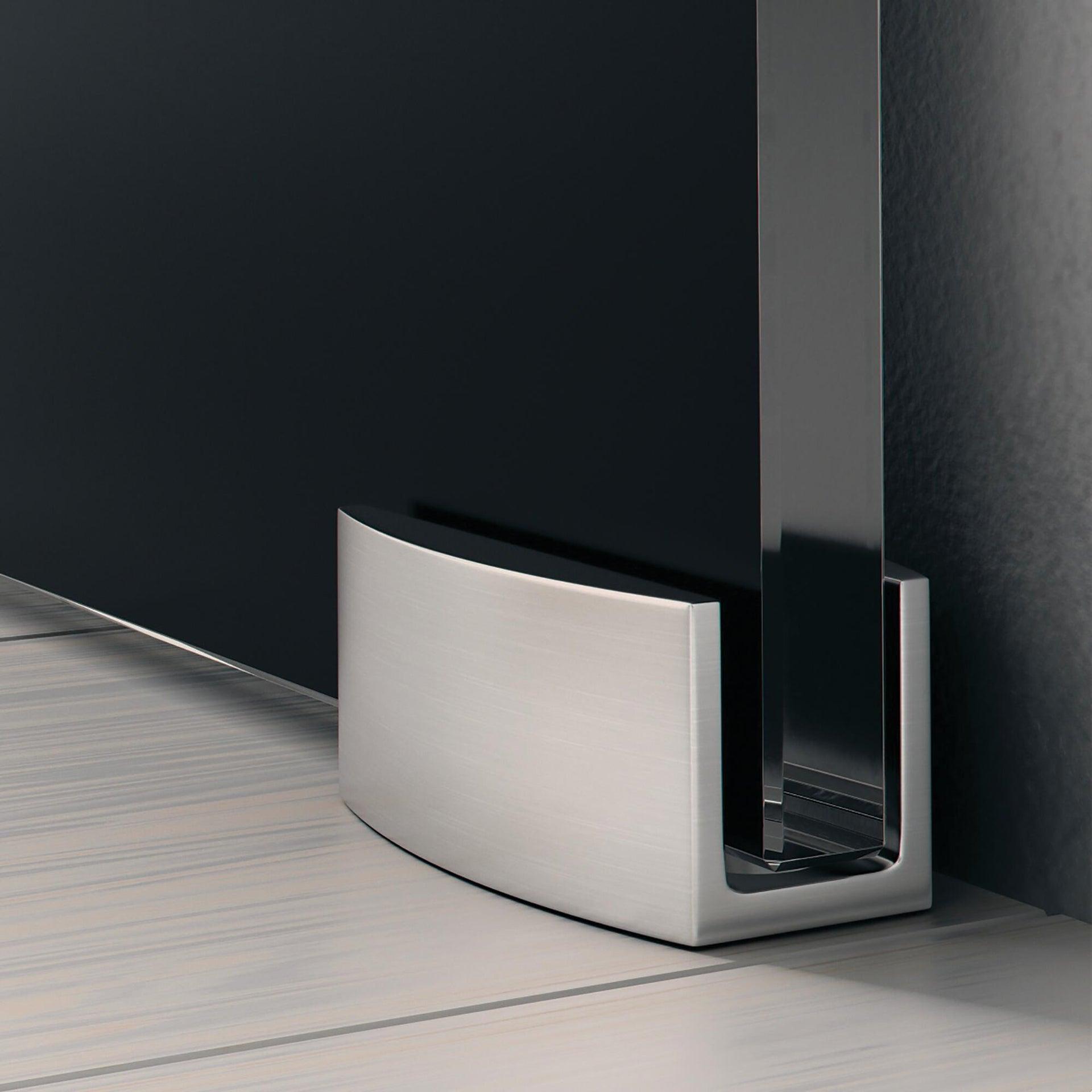 Binario per porta scorrevole Lux grigio L 2 m - 4