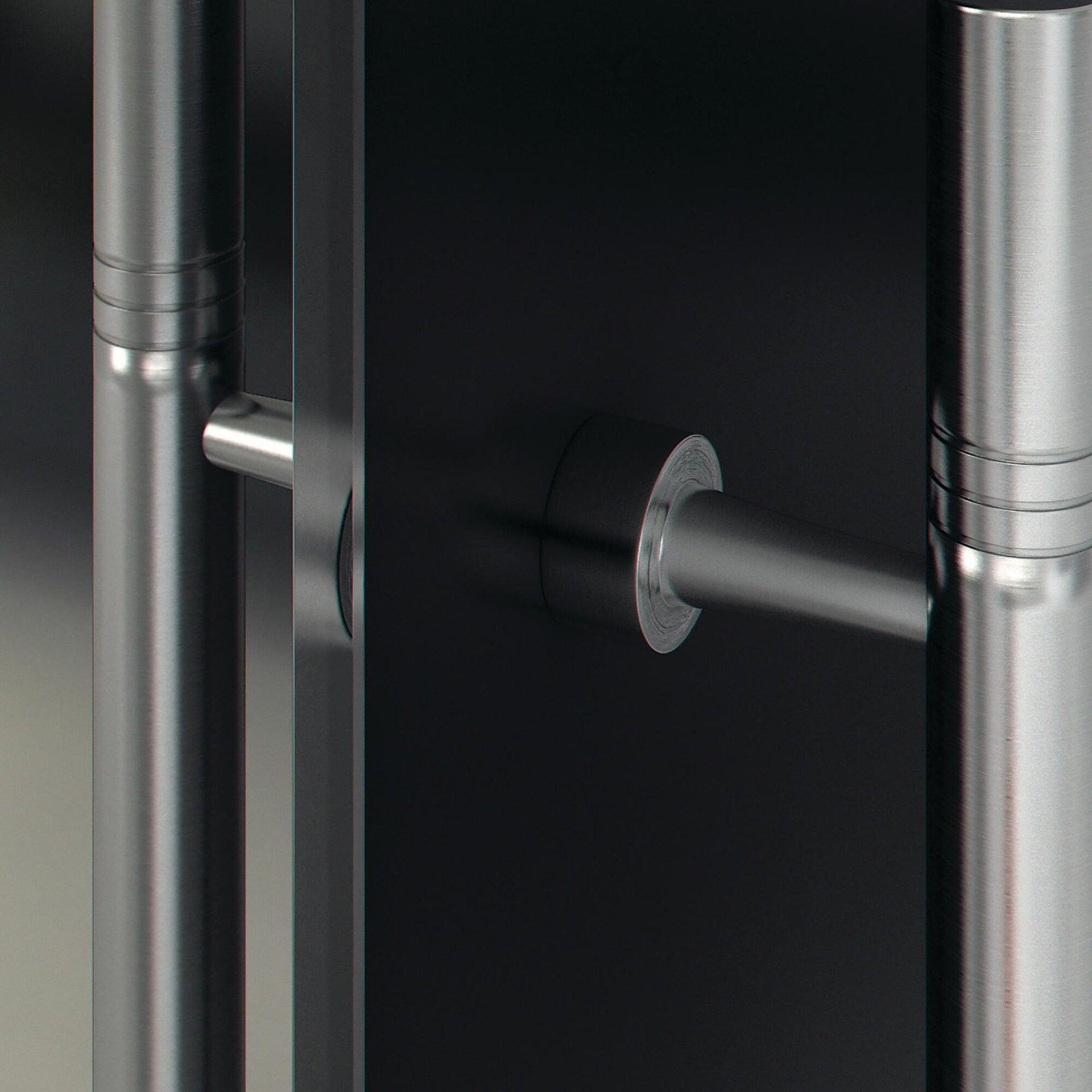 Binario per porta scorrevole Lux grigio L 2 m - 6