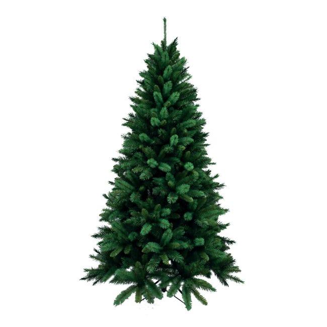 Albero di natale artificiale Livigno verde H 210 cm, - 1