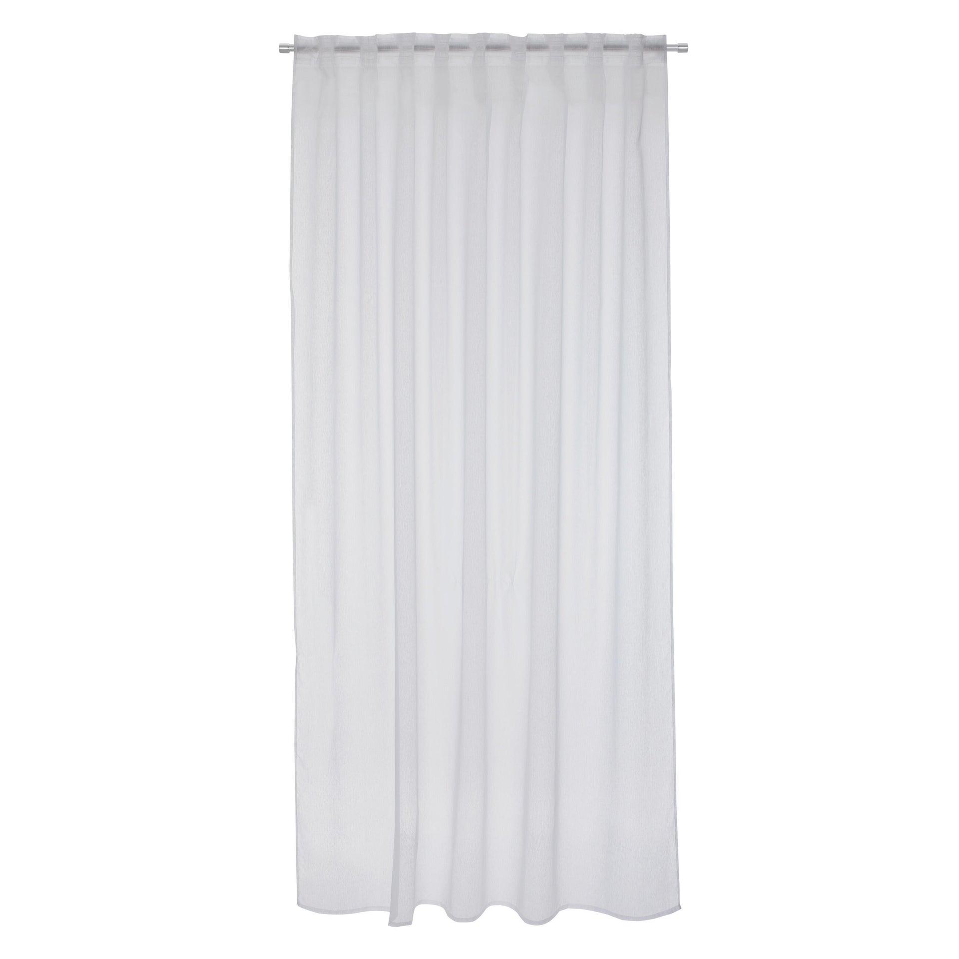 Tenda INSPIRE Softy bianco fettuccia e passanti 200 x 280 cm - 2