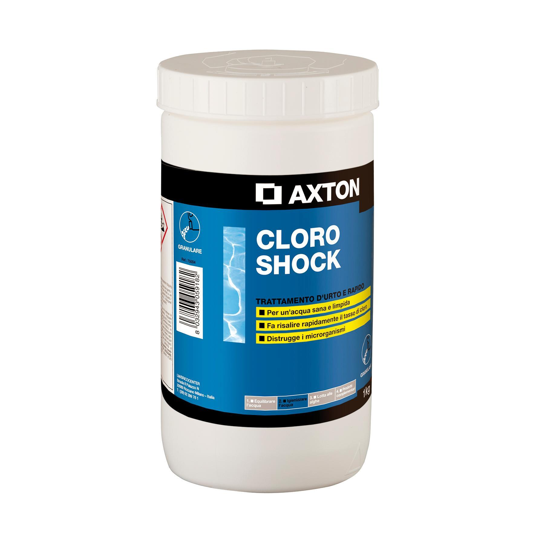 Cloro Shock granulare AXTON 1 kg - 1