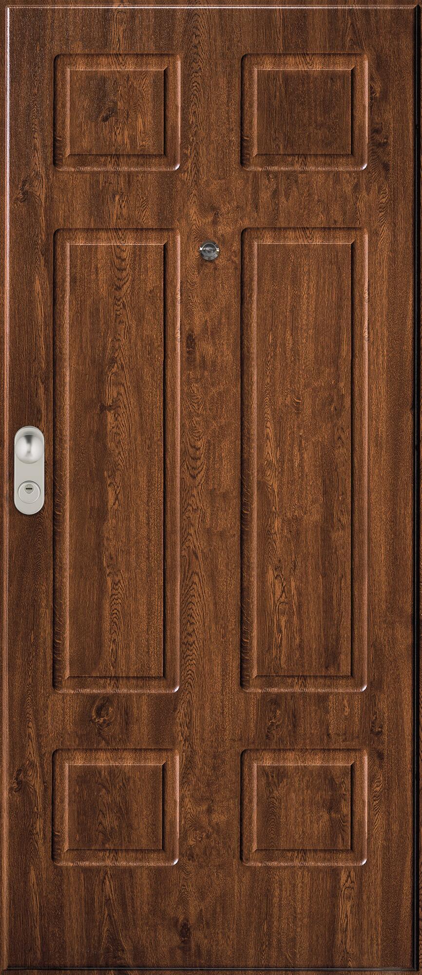 Porta blindata Iro noce L 90 x H 210 cm destra - 2