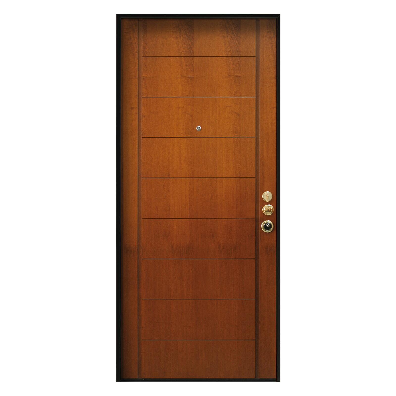 Porta blindata Best noce L 80 x H 210 cm sinistra - 3