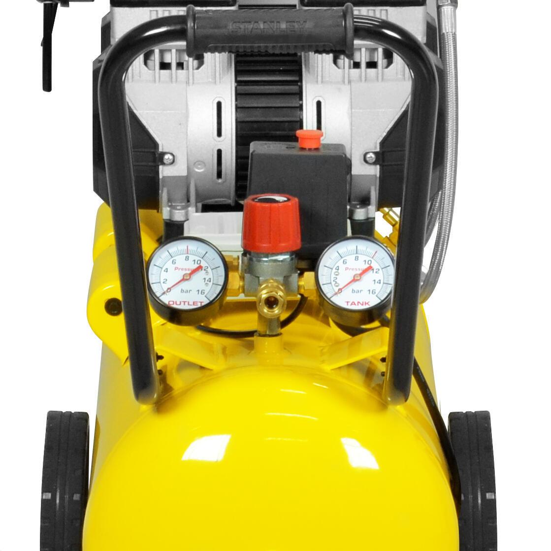 Compressore silenziato STANLEY SXCMS2652HE, 2.6 hp, 8 bar, 50 litri - 2