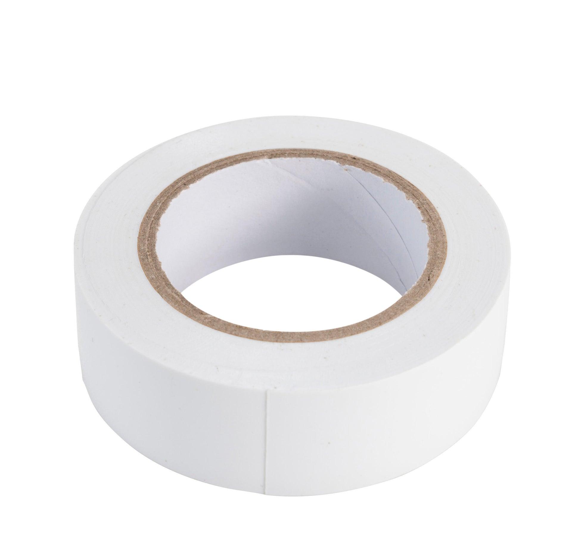 Nastro isolante 19 x 10000 mm x sp 0.15 mm bianco - 3