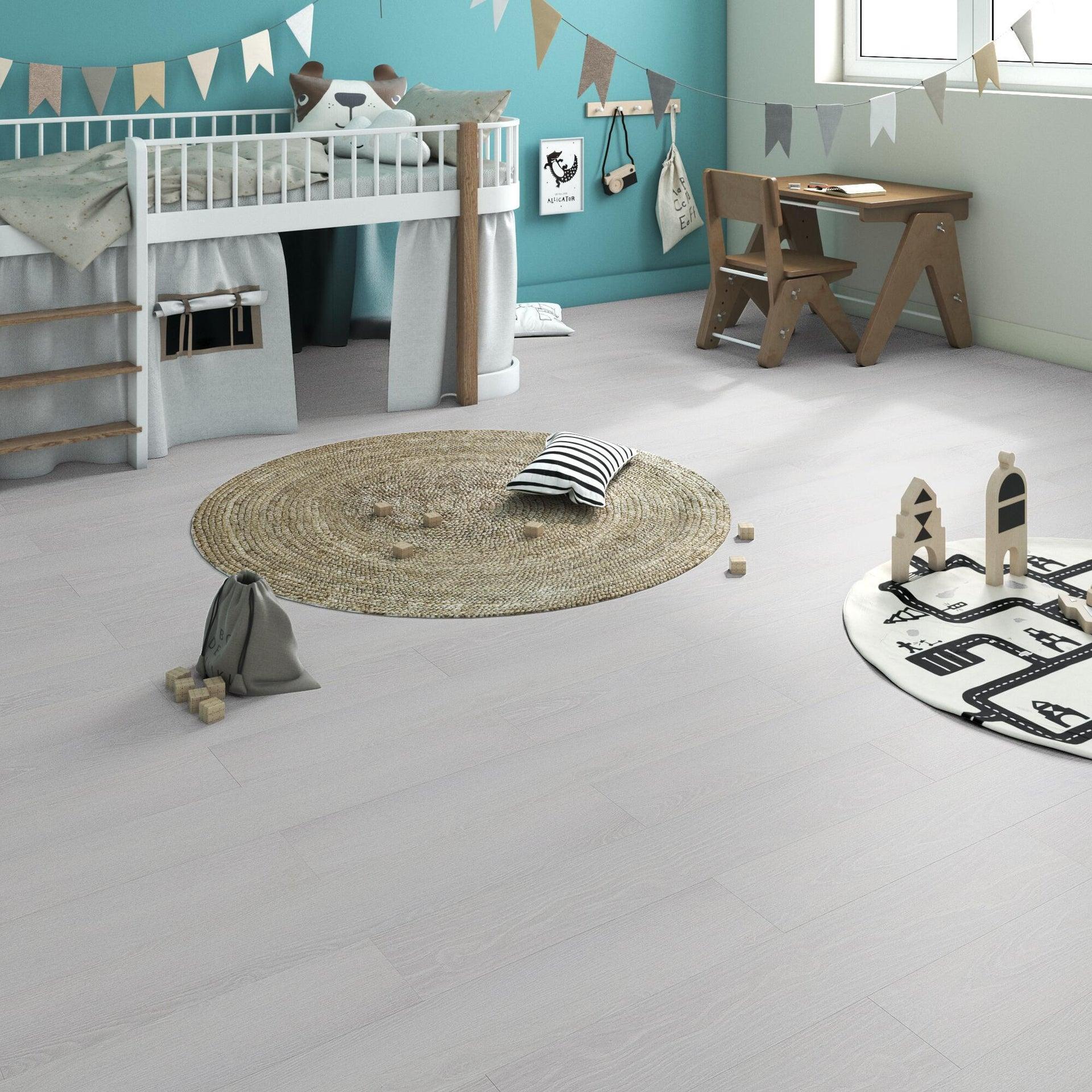 Pavimento PVC flottante clic+ Pure Sp 4.2 mm bianco - 5