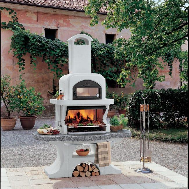 Barbecue legno e carbone PALAZZETTI IN GIARDINO Capri - 1