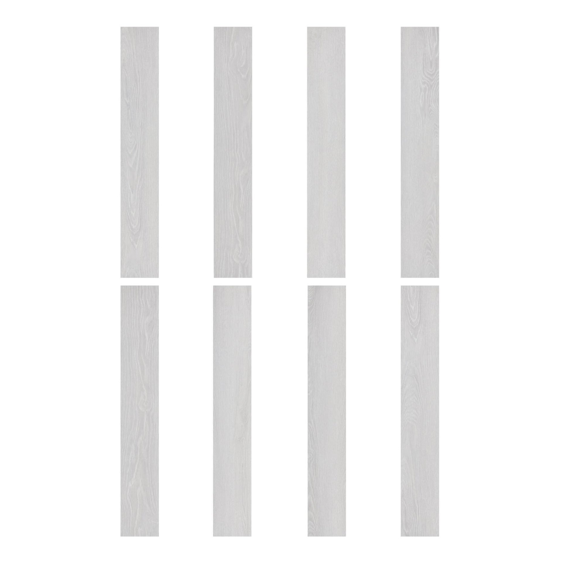 Pavimento PVC flottante clic+ Pure Sp 4.2 mm bianco - 4