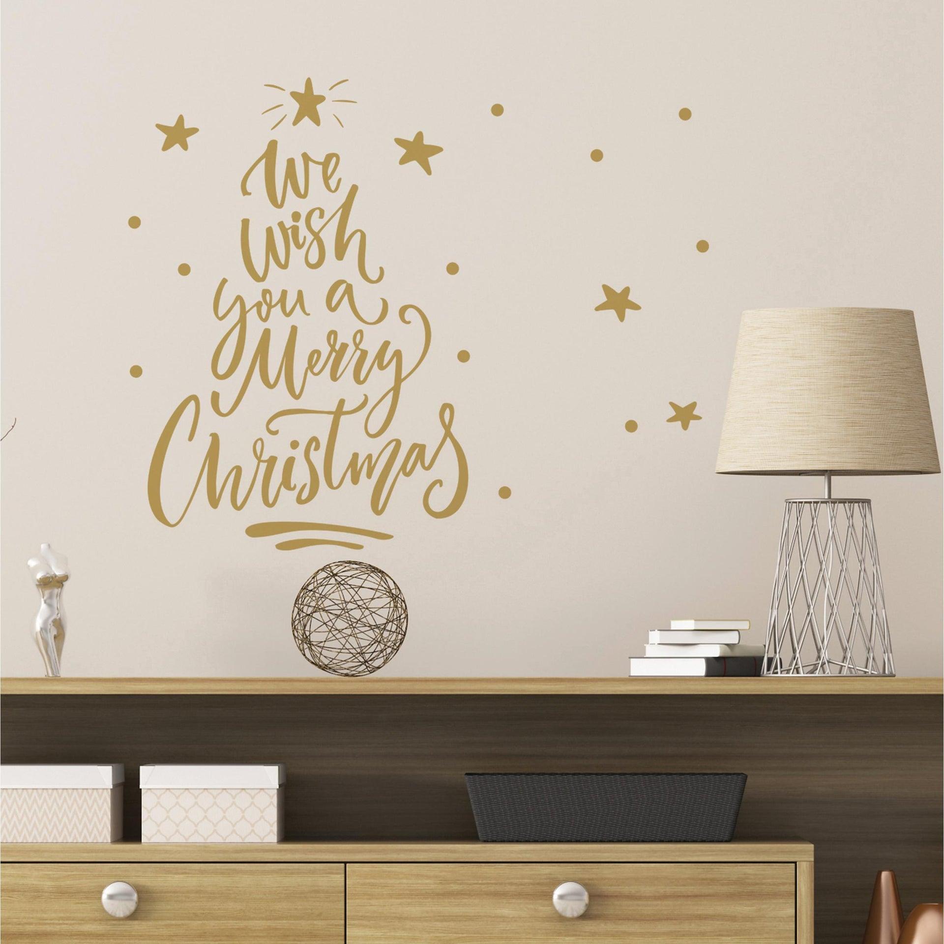 Sticker Albero di Natale 22x67 cm - 1