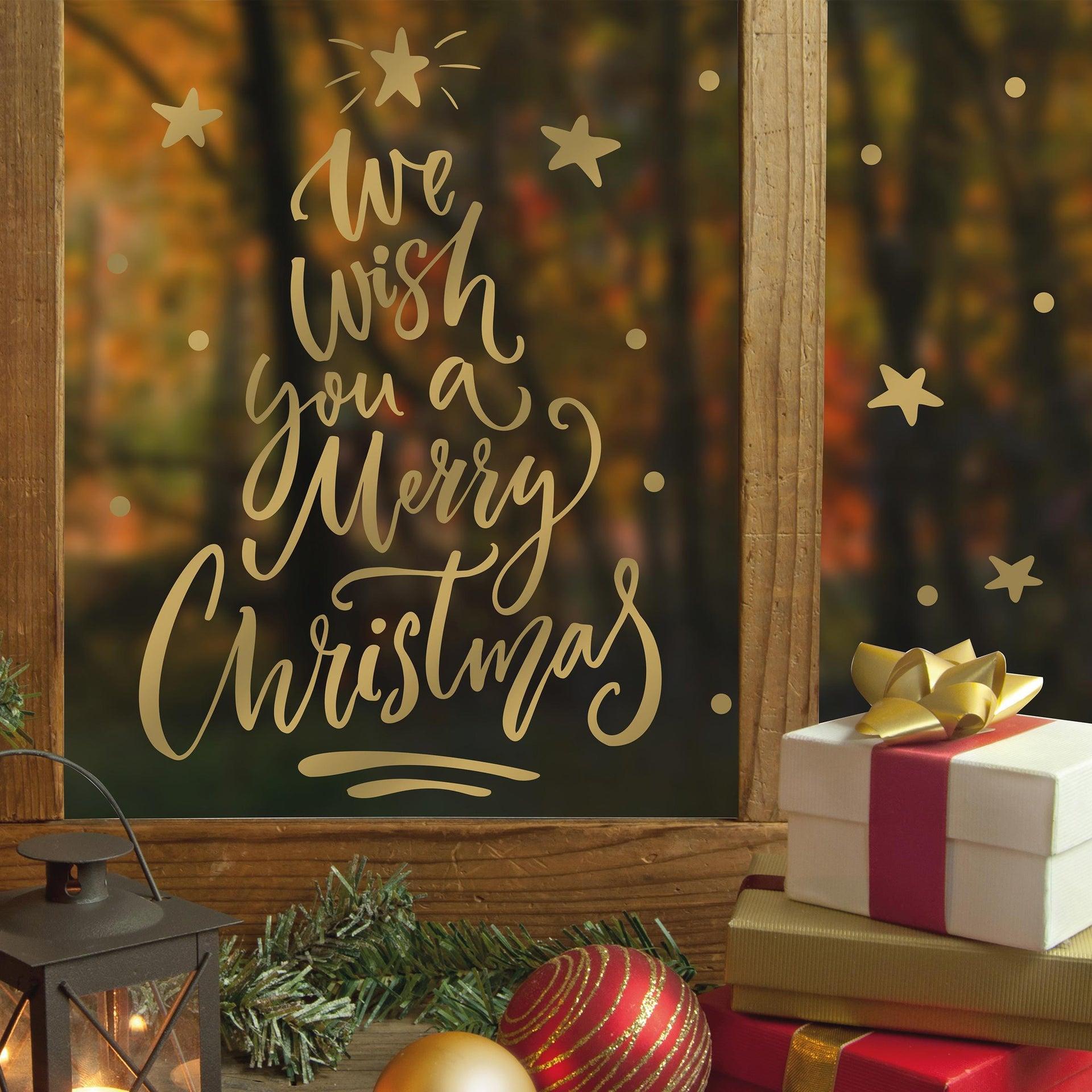 Sticker Albero di Natale 22x67 cm - 2