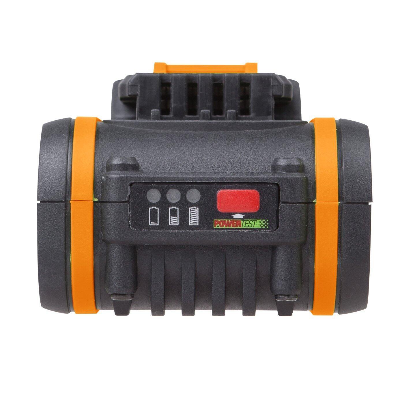 Batteria WORX in litio (li-ion) 20 V 4 Ah - 5