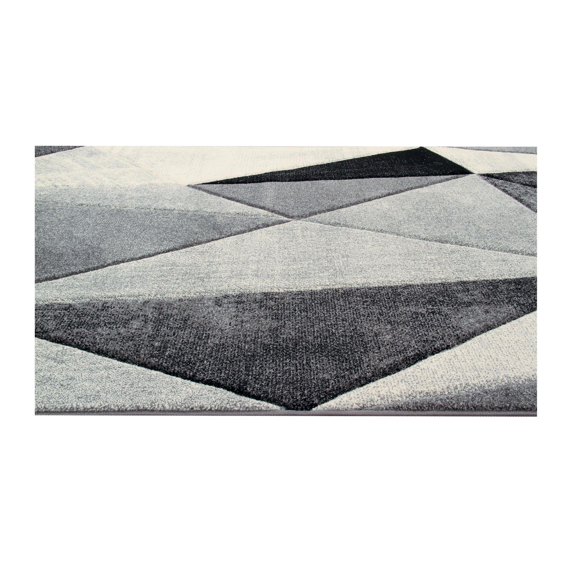 Tappeto Opera Diamanti classic , bianco, 160x220 - 4