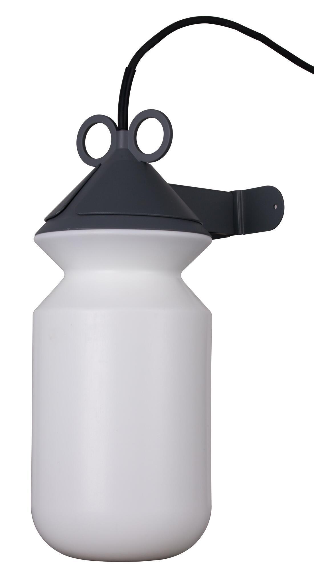 Lampada da esterno H 155 cm, in alluminio, E27 IP44 INSPIRE - 3