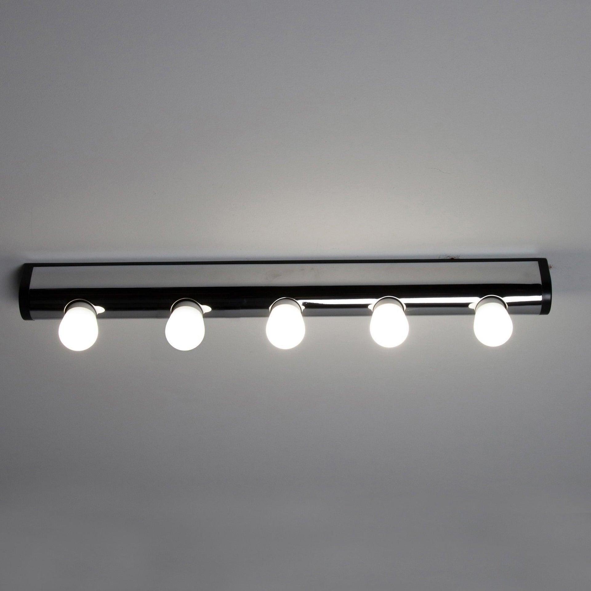 Applique moderno Liz cromo, in metallo, 60.4x5.5 cm, 5 luci INSPIRE - 3