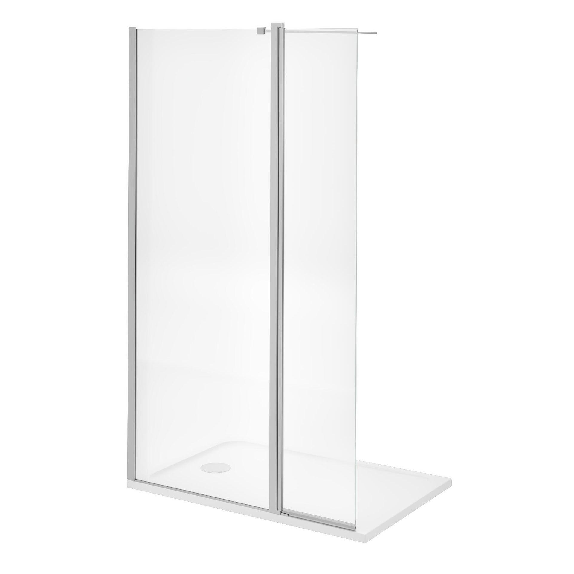 Piatto doccia resina sintetica e polvere di marmo Easy 80 x 120 cm bianco - 8