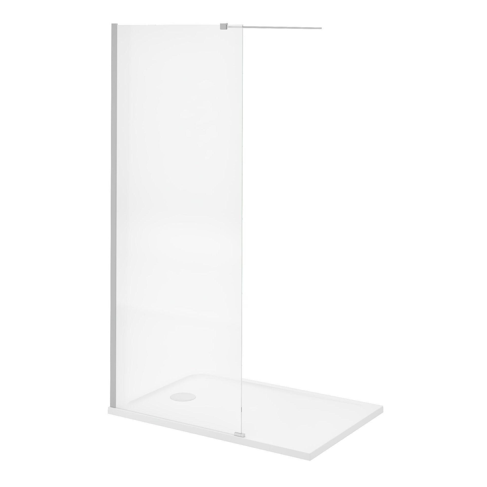Piatto doccia resina sintetica e polvere di marmo Easy 80 x 120 cm bianco - 19