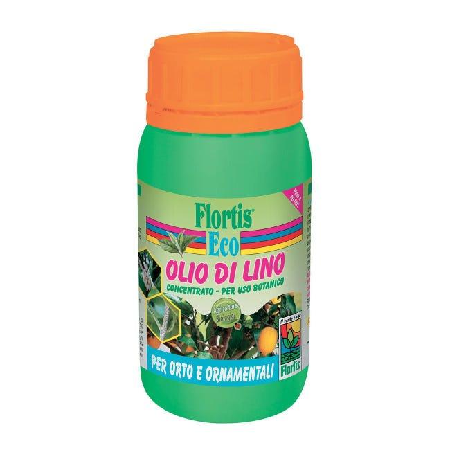 Repellente FLORTIS olio di lino concentrato 200 ml - 1