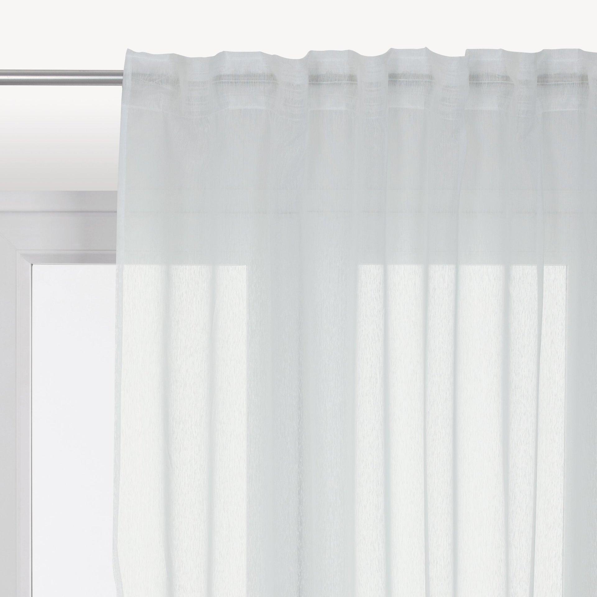 Tenda INSPIRE Softy bianco fettuccia e passanti 200 x 280 cm - 1