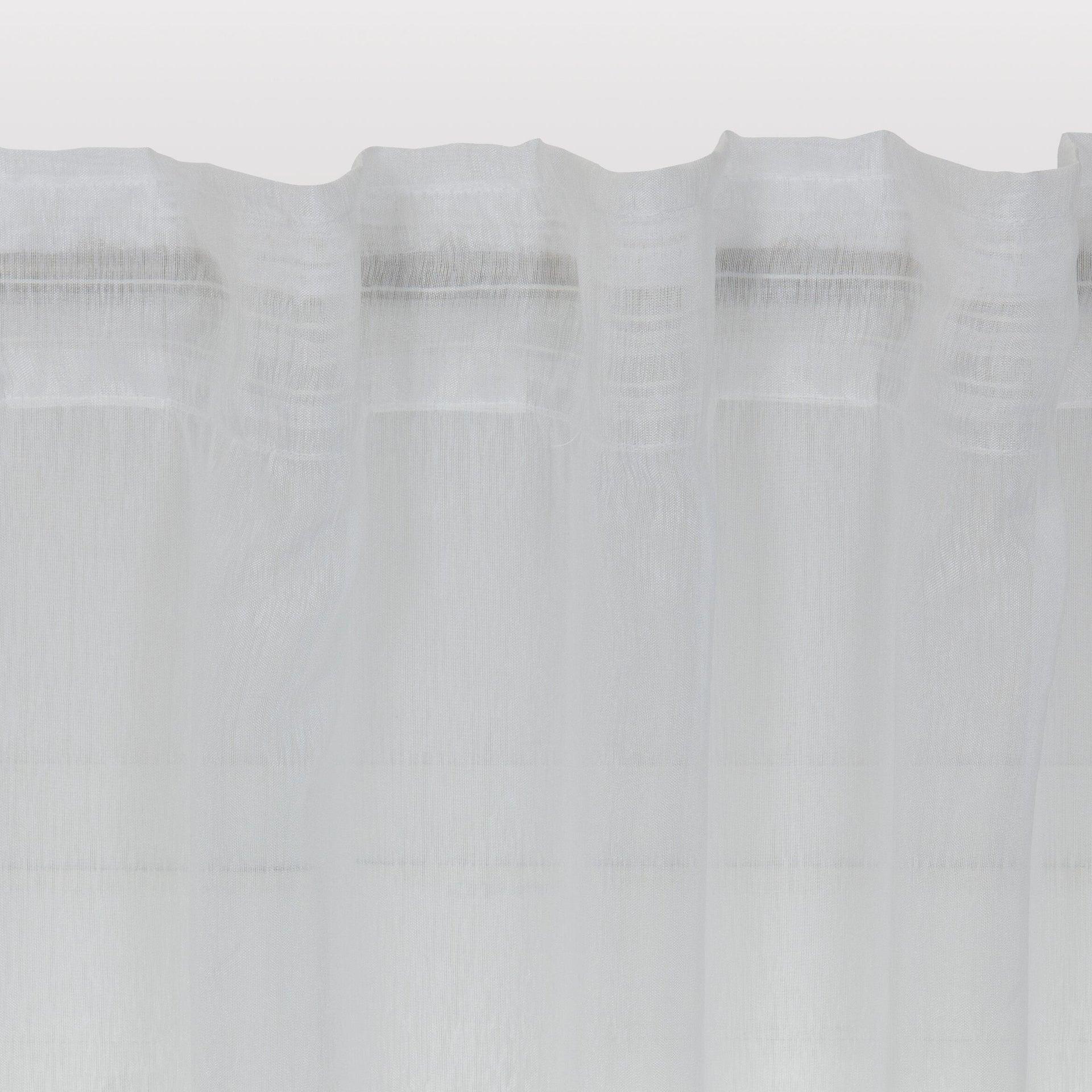 Tenda INSPIRE Softy bianco fettuccia e passanti 200 x 280 cm - 3