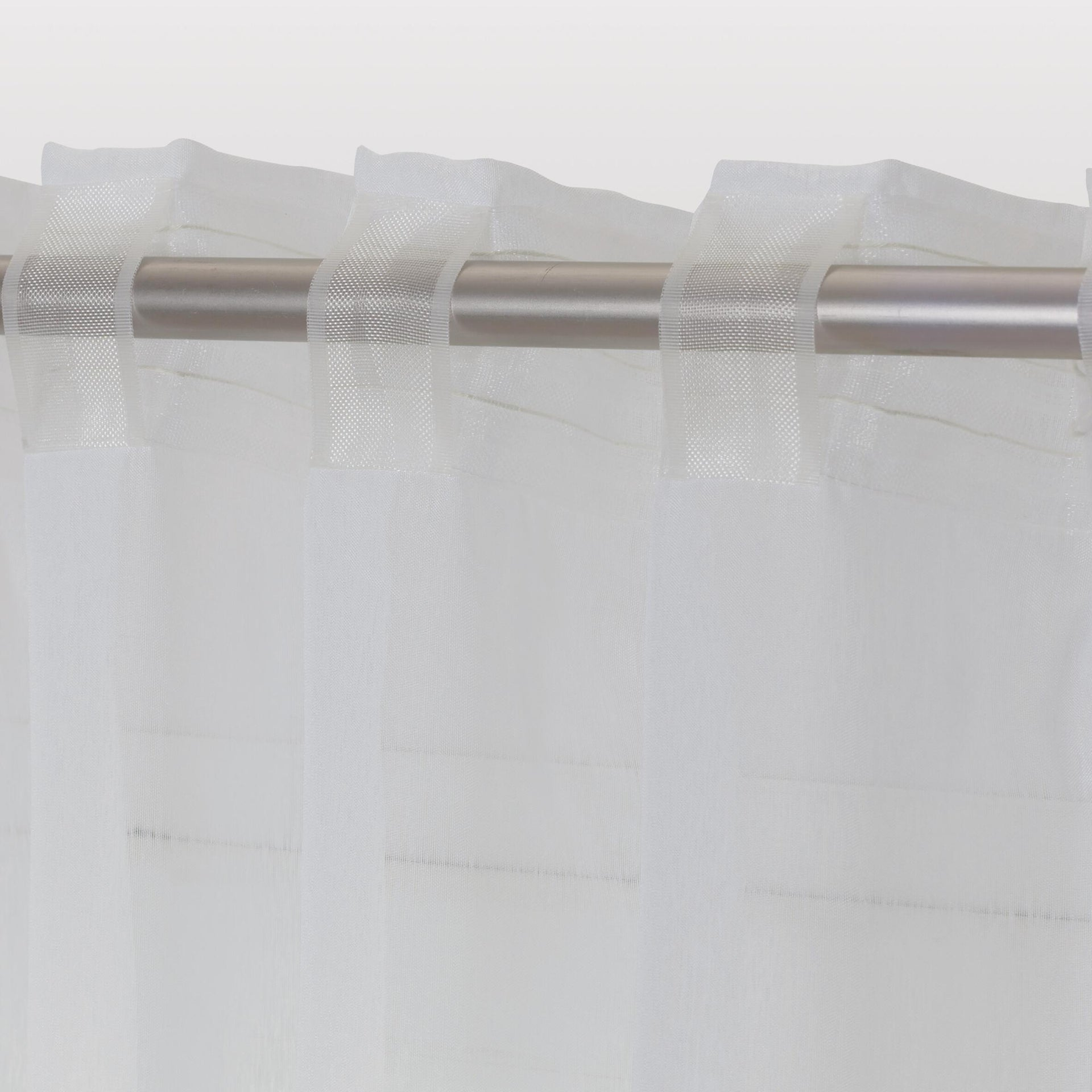 Tenda INSPIRE Softy bianco fettuccia e passanti 200 x 280 cm - 6