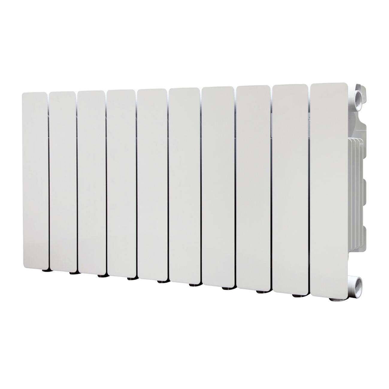 Radiatore acqua calda PRODIGE Modern in alluminio 10 elementi interasse 35 cm - 3