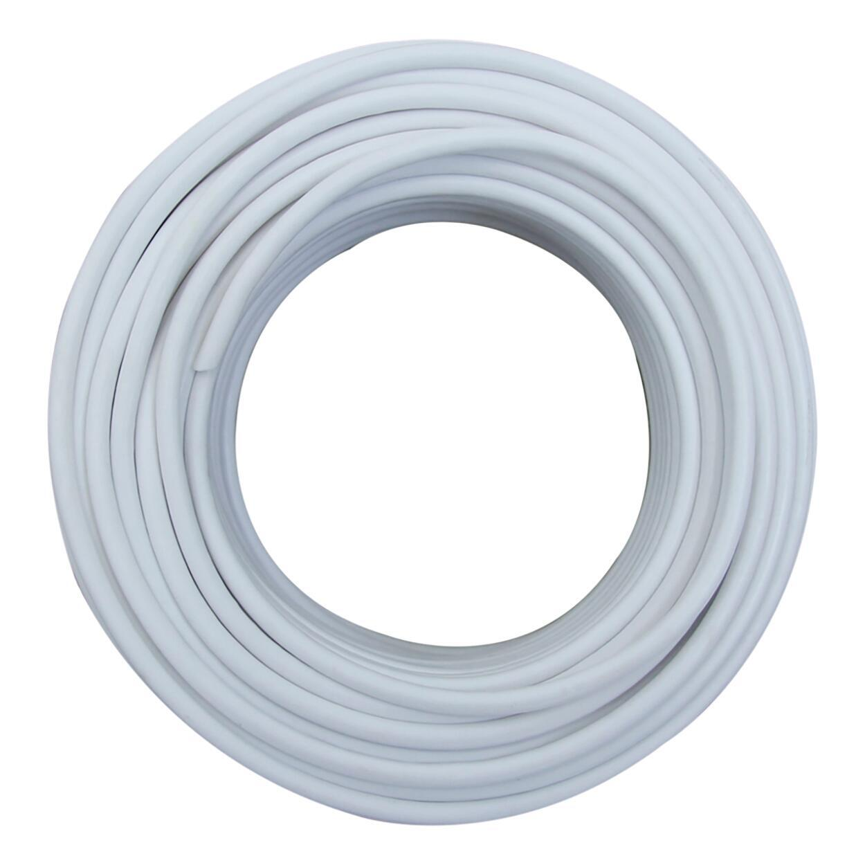 Cavo elettrico bianco H03VVH2-F 2 fili x 0,75 mm² 5 m LEXMAN Matassa - 3