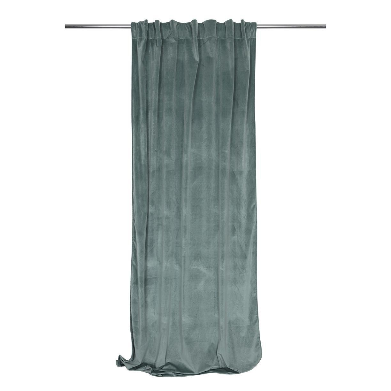 Tenda Misty verde passanti nascosti 135 x 280 cm - 8
