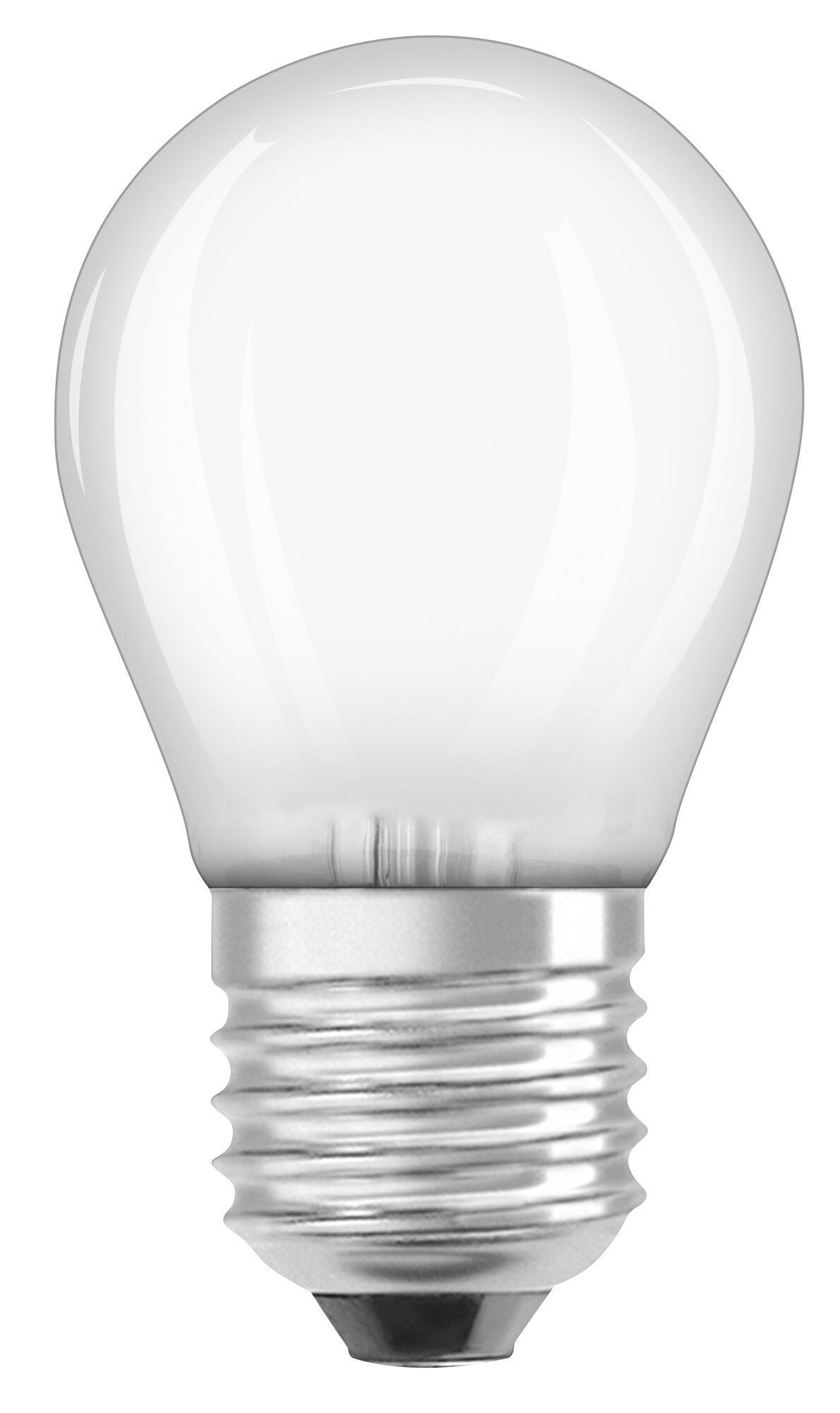 Lampadina LED filamento, E27, Sferico, Opaco, Luce calda, 2.8W=250LM (equiv 25 W), 320° , OSRAM - 8