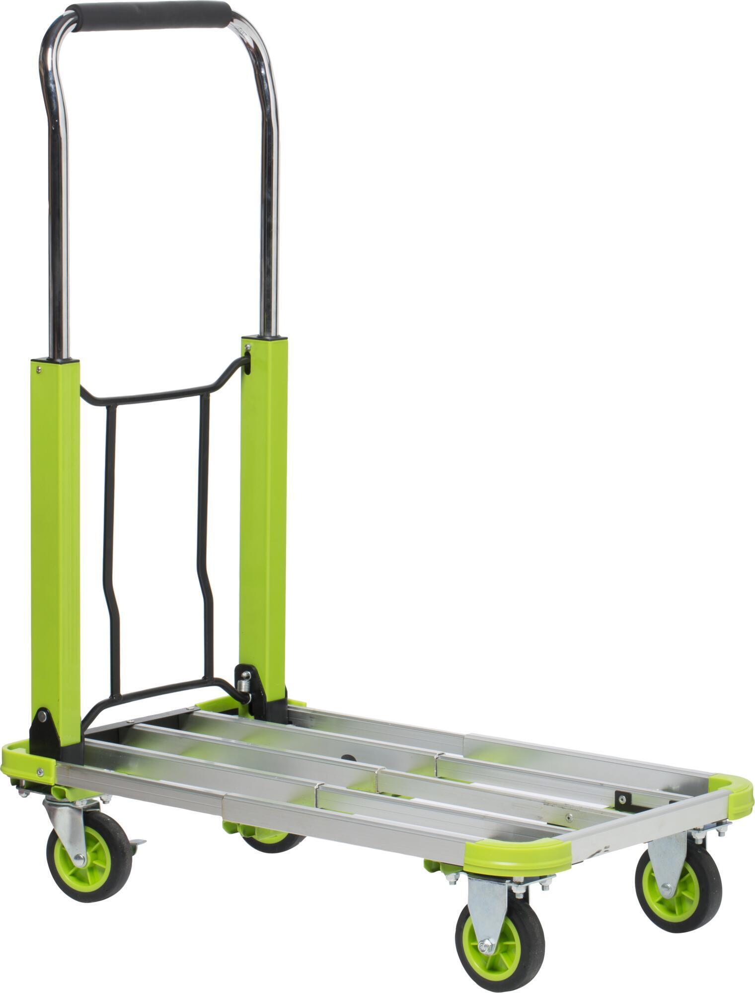 Carrello piattaforma STANDERS 71 x 42 cm portata 150 kg - 7
