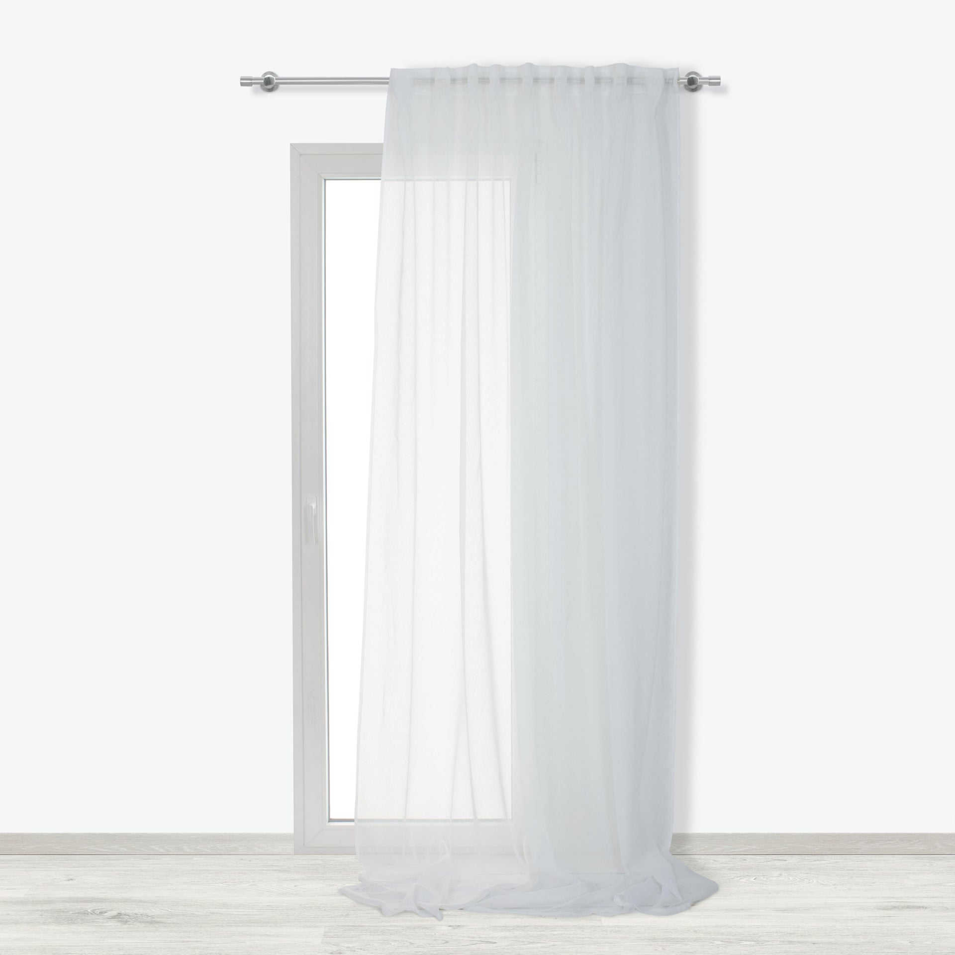 Tenda INSPIRE Softy bianco fettuccia e passanti 200 x 280 cm - 4