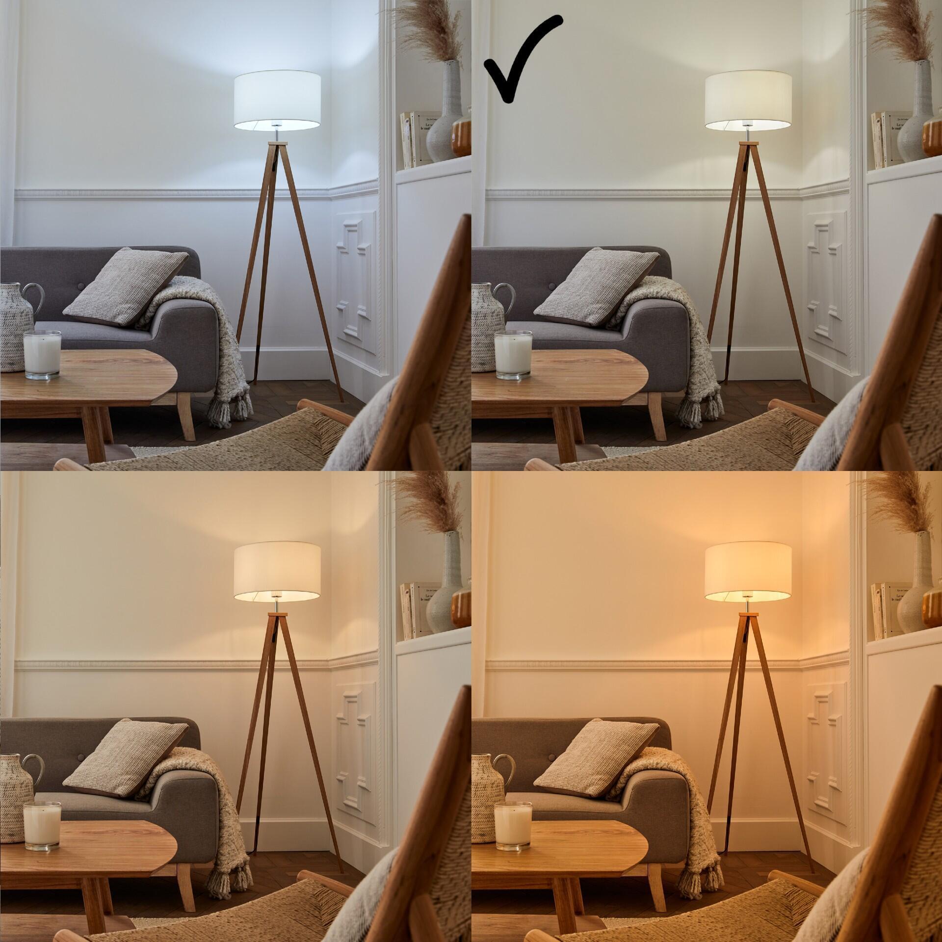 Lampadina LED filamento, E27, Goccia, Trasparente, Luce naturale, 11W=1521LM (equiv 100 W), 360° , LEXMAN - 6