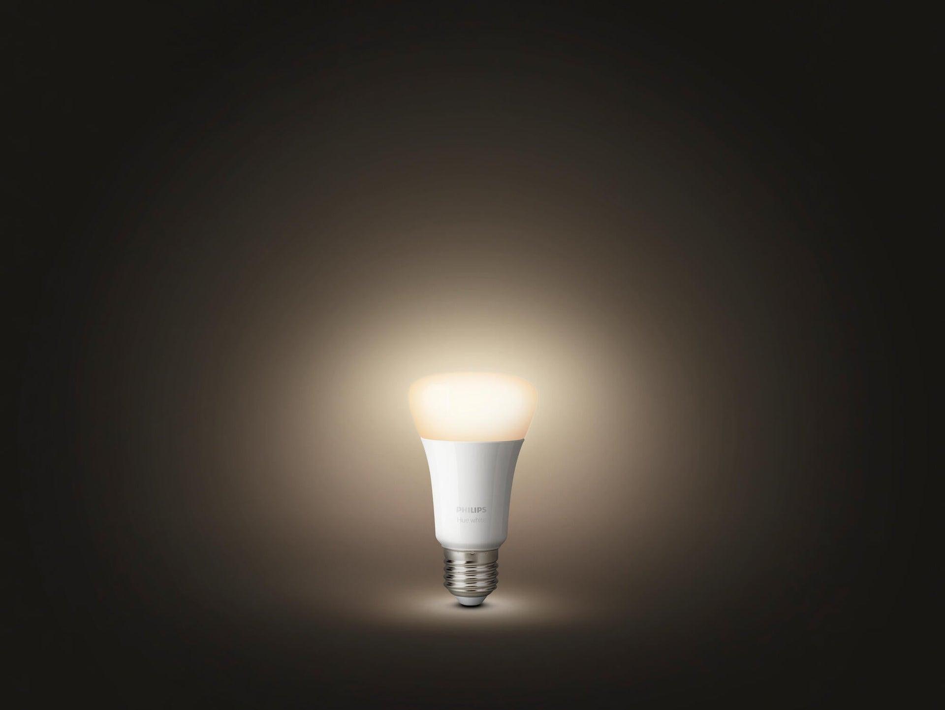 Lampadina collegato LED, HUE WHITE BLUETOOTH + TELECOMANDO, E27, Goccia, Opaco, Luce calda, 9W=806LM (equiv 60 W), 150° , PHILIPS HUE - 5