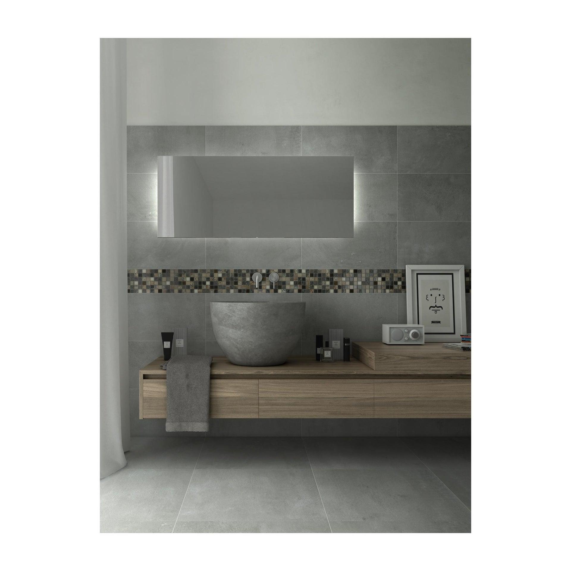 Mosaico Hydre Greyin H 30 x L 30 cm multicolore - 5