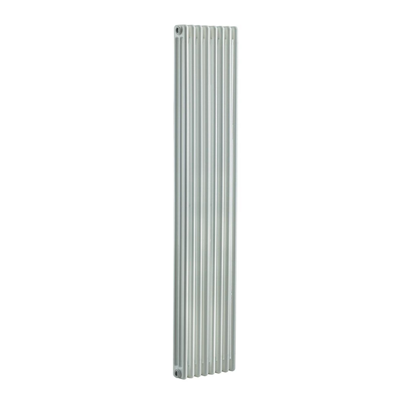 Radiatore acqua calda Tubolare in acciaio 8 elementi interasse 193.5 cm - 2