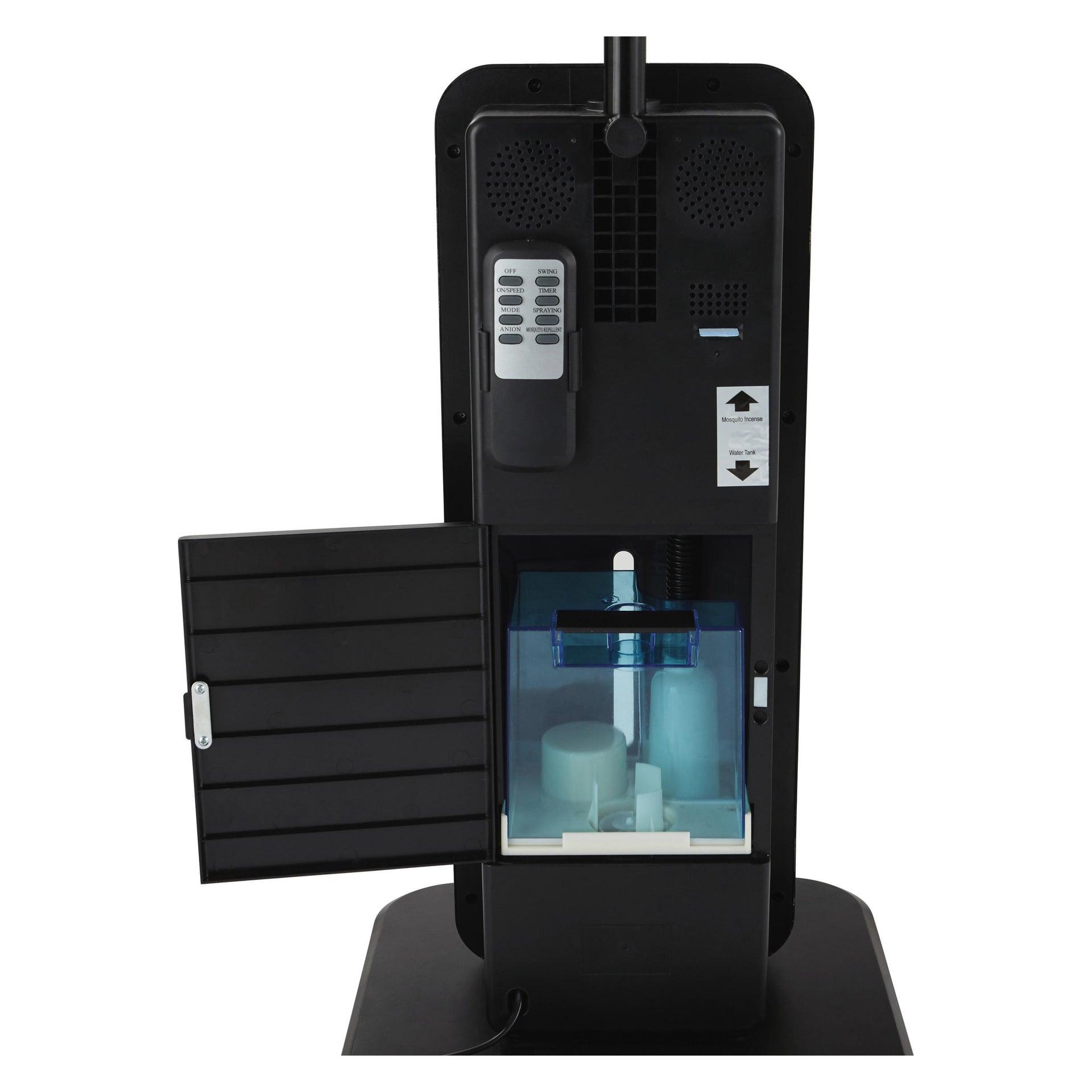 Ventilatore nebulizzatore EQUATION Milton nero 80 W Ø 40 cm - 3