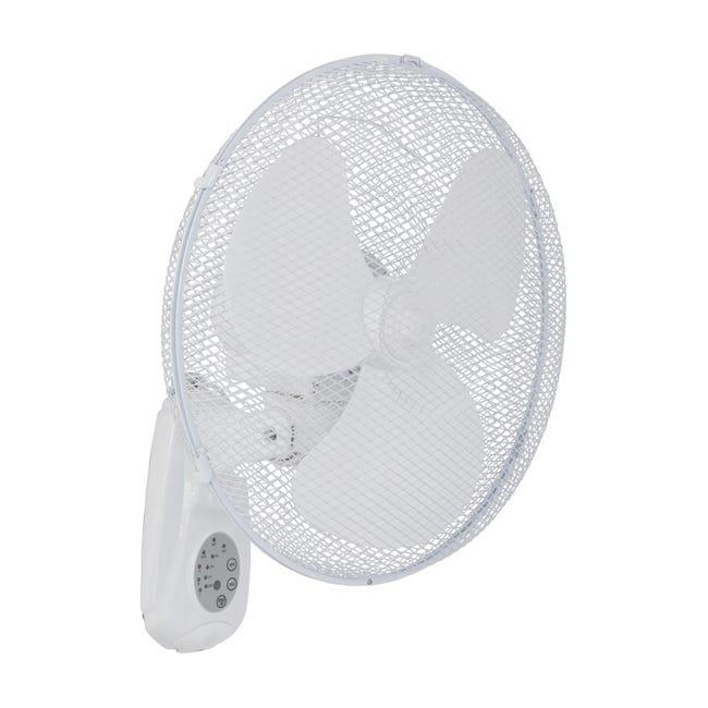 Ventilatore a parete EQUATION Derby bianco 45.0 W Ø 40.0 cm - 1